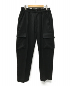 superNova(スーパーノヴァ)の古着「Utility cargo trouser カーゴパンツ」 ブラック
