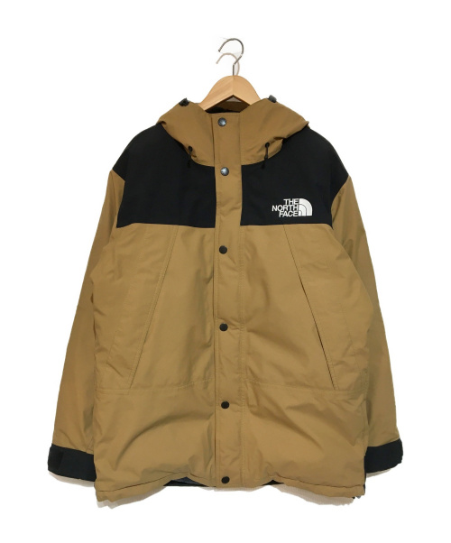 THE NORTH FACE(ザノースフェイス)THE NORTH FACE (ザノースフェイス) 20AW Mountain Down Jacket ダウン ユーティリティブラウン サイズ:XL ND91930の古着・服飾アイテム