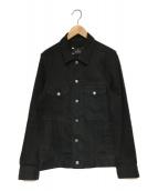 RUDE GALLERY(ルードギャラリー)の古着「ブラックデニムジャケット」 ブラック
