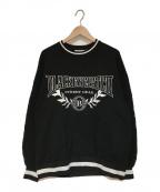 THE BLACK EYE PATCH(ザブラックアイパッチ)の古着「ロゴスウェット」 ブラック