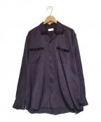 LITTLEBIG(リトルビッグ)の古着「オープンカラーシャツ」|パープル