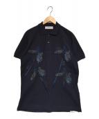 TOGA VIRILIS(トーガヴィリリース)の古着「刺繍ポロシャツ」|ネイビー