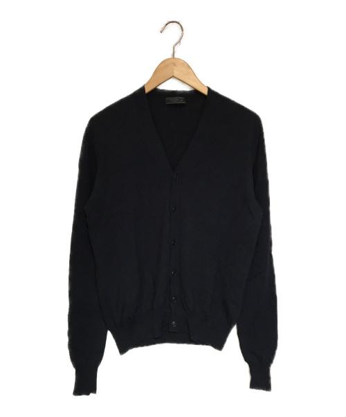PRADA(プラダ)PRADA (プラダ) ニットカーディガン ネイビー サイズ:48の古着・服飾アイテム