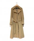 UNITED ARROWS(ユナイテッドアローズ)の古着「カシミヤトレンチコート」|ベージュ