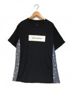 uniform experiment(ユニフォームエクスペリメント)の古着「ボックスロゴTシャツ」|ブラック