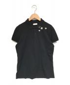 Saint Laurent Paris(サンローランパリ)の古着「ポロシャツ」|ブラック
