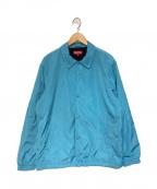 SUPREME()の古着「OLD ENGLISH COACH JACKET ジャケット」|ブルー