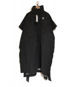 adidas originals by HYKE(アディダスオリジナルスバイハイク)の古着「MOUTAIN PONCH」|ブラック