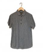 ORGUEIL(オルゲイユ)の古着「半袖シャツ」|ネイビー