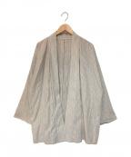 TROVE(トローブ)の古着「ハンテン 半纏 羽織り」|ベージュ