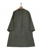 TROVE(トローブ)の古着「羽織 コート 着物」|カーキ