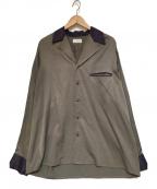 LITTLEBIG(リトルビッグ)の古着「BI-COLOR COLLARED SHIRT シャツ」|グレー