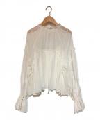 CASA FLINE(カーサフライン)の古着「コットンブラウス」|ホワイト
