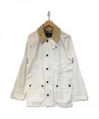 Barbour(バーブァー)の古着「ビデイルジャケット SL BEDALE」|ホワイト
