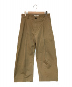 STUDIO NICHOLSON(スタジオニコルソン)の古着「BRIDGES PANT パンツ」|ベージュ