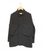 jieda()の古着「オーバーM-65ジャケット」|ブラック