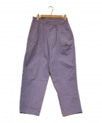 Dulcamara(ドゥルカマラ)の古着「よそいき2タックワイドテーパードパンツ」 パープル