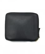 COMME des GARCONS(コムデギャルソン)の古着「2つ折り財布」|ブラック