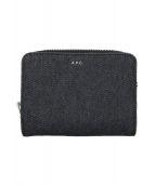 ()の古着「2つ折り財布」 インディゴ