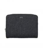 A.P.C.(アーペーセー)の古着「2つ折り財布」 インディゴ
