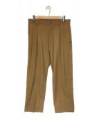 NEIGHBORHOOD(ネイバーフッド)の古着「TUCK / ER-PT パンツ」 ベージュ