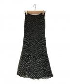 SOULEIADO(ソレイアード)の古着「プリーツスカート」|ブラック