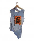 CHRISTIAN DADA(クリスチャンダダ)の古着「デザインシャツ」 ブルー