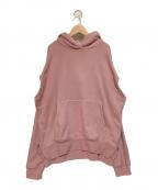 IRENE(アイレネ)の古着「デザインジップパーカー」 ピンク