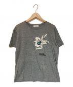 VALENTINO(ヴァレンティノ)の古着「プリントTシャツ」 グレー