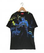 HUGO BOSS(ヒューゴ ボス)の古着「総柄プリントカットソー」|ブラック