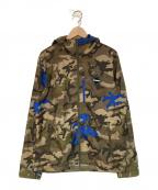 F.C.R.B.×NIKE(エフシーリアルブリストル×ナイキ)の古着「ナイロンジャケット」|オリーブ