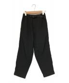 GRAMICCI(グラミチ)の古着「RESORT PT パンツ」|ブラック