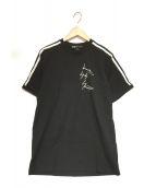 Y-3(ワイスリー)の古着「ロゴプリントTシャツ」|ブラック