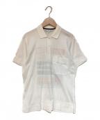 Christian Dior Sports(クリスチャンディオールスポーツ)の古着「ポロシャツ」|ホワイト