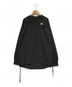 adidas×HYKE(アディダス×ハイク)の古着「ナイロンプルオーバー」|ブラック