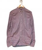 CDG JUNYA WATANABE MAN(コムデギャルソン ジュンヤワタナベマン)の古着「再構築チェックシャツ」 レッド