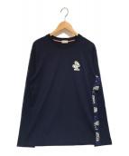 MONCLER(モンクレール)の古着「ロングスリーブカットソー」|ネイビー
