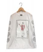 FENDI(フェンディ)の古着「JOKARL Pt カットソー」|ホワイト