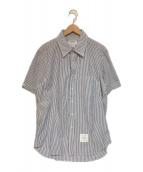 Thom Browne(トムブラウン)の古着「シアサッカーS/Sシャツ」|ブルー