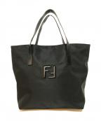 FENDI()の古着「ナイロントートバッグ」 ブラック