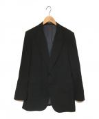 CLASS(クラス)の古着「ピークドラペルジャケット」|ブラック