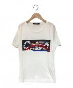 DSQUARED2()の古着「プリントTシャツ」|ホワイト