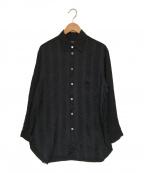 Ys(ワイズ)の古着「レーヨンシャツ」|ブラック