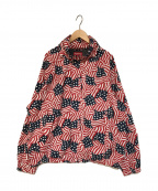 SUPREME()の古着「raglan court jacket flag ジャケット」|レッド×ネイビー