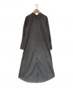 Ameri()の古着「シャツドレス ワンピース」|グレー