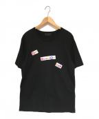 GOD SELECTION XXX(ゴットセレクショントリプルエックス)の古着「プリントTシャツ」|ブラック