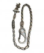 BILL WALL LEATHER(ビルウォールレザー)の古着「MID SMOOTH WALLET CHAIN」