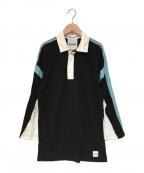 KOCHE(コシェ)の古着「ラガーシャツ」|ブルー×ブラック