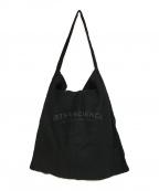 ARTS&SCIENCE(アーツアンドサイエンス)の古着「リネントートバッグ」|ブラック