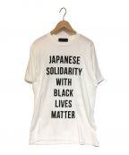 HUMAN MADE(ヒューマンメイド)の古着「プリントTシャツ」|ホワイト